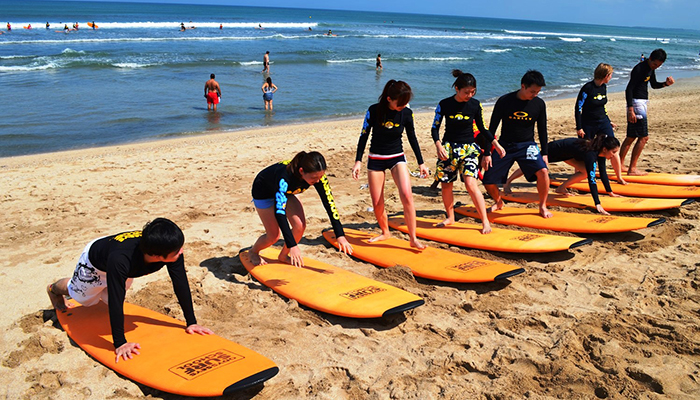 Bali Private Surf Lesson