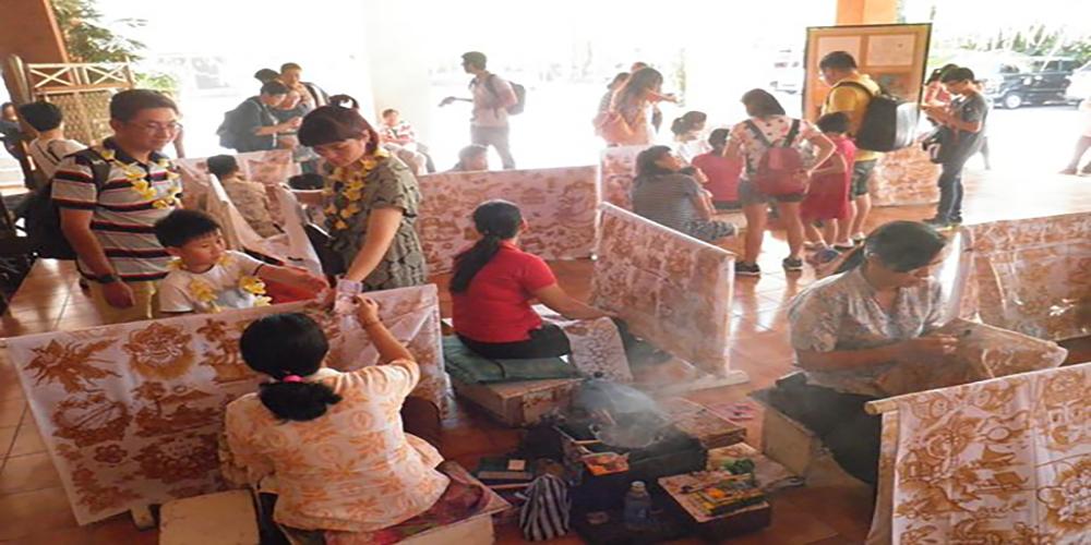 Batubulan Village with Their Interesting Batik Craft Product
