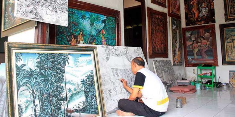 Batuan-village-art-painting-bali-tour-service