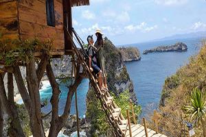 Bali Tour Package - Tree House at Nusa Penida Island