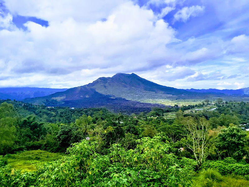 Kintamani Batur Volcano and Ayung White River Rafting - Bali Combination Tour Package