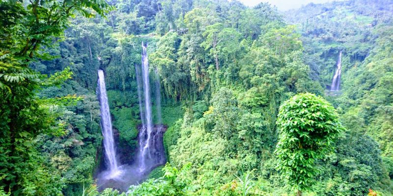 Sekumpul Waterfall - Bali Tour Package