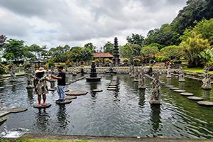 Tirta Gangga Water Palace - Bali Tour Driver