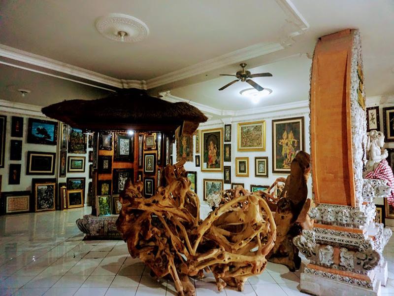 Ubud Art Village Painting - Bali Tour