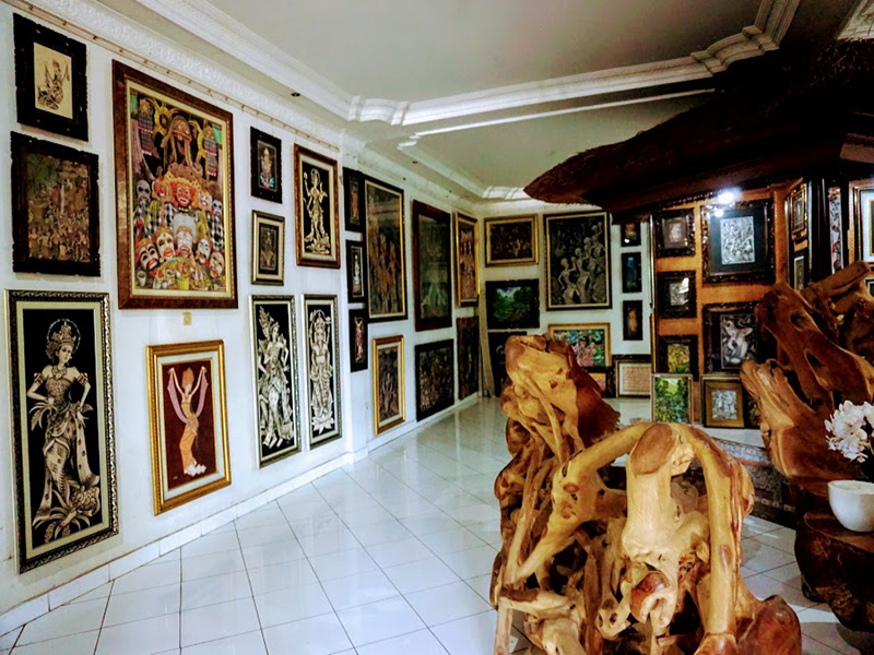 Batuan Art Village Painting - Bali Tour package