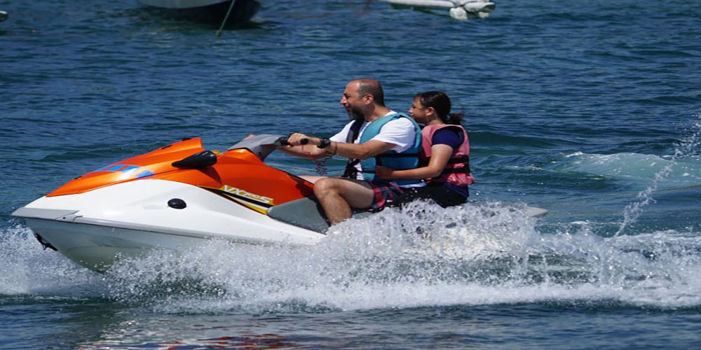 Jet ski with instructor - Bali Tour Package