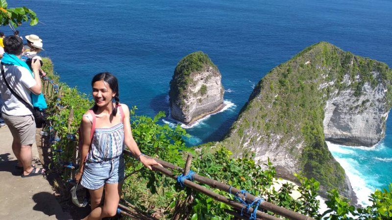 Kelingking Beach Lembongan Island - Bali Tour Package