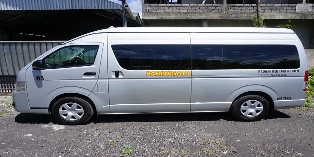 Toyota hiace 16 seat rental service