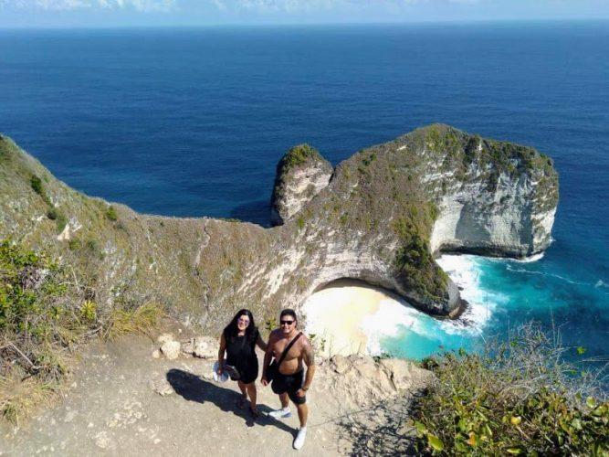 kelingking Beach Nusa Penida Island - Bali Tour Service