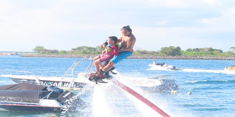 Jet Fly Board to Ride in Tanjung Benoa - Bali Tour Package