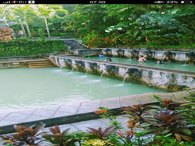 Banjar Hot Spring Nort of Bali - Bali Tour Package