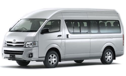 Bali Car hire - Toyota HiAce