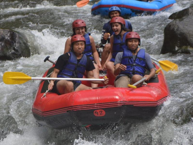 Ayung White River Rafting - Bali Tour Service