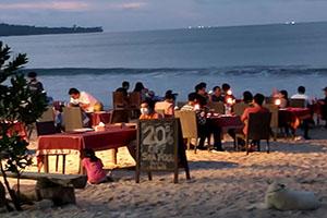 Dinner Seafood at Jimbaran Beach - Bali Tour Service