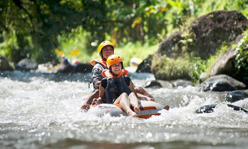 Tubing Ride At Ayung River - Bali Tour Package